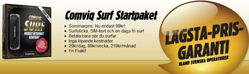 Comviq Surf just nu 99kr!