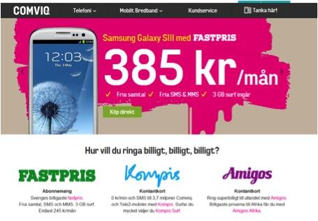 comviq mobilt bredband abonnemang